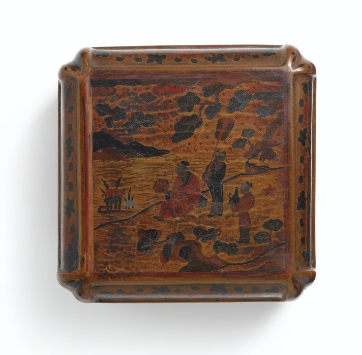 A RARE'QIANGJIN' AND 'TIANQI' LACQUER 'SCHOLAR' BOX AND COVER<br>MARK AND PERIOD OF WANLI, DATED TO THE GENGXU YEAR(IN ACCORDANCE WITH 1610) | Lot | Sotheby's