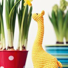 Miss Giraffe amigurumi crochet pattern by StuffTheBody