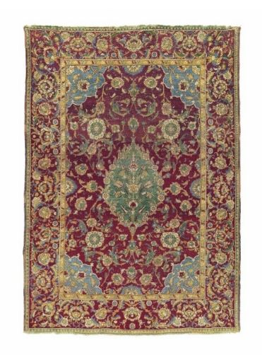 A Cairene rug, Ottoman Egypt, Late 16th or early 17th century
