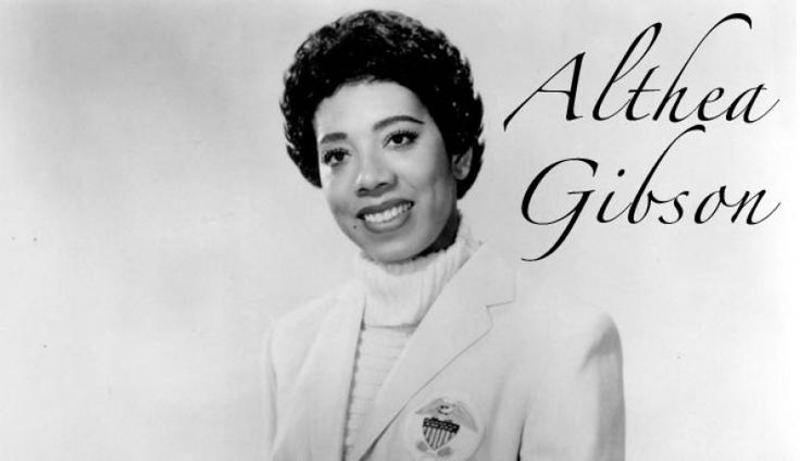 Althea gibson iconic inspiring pinterest