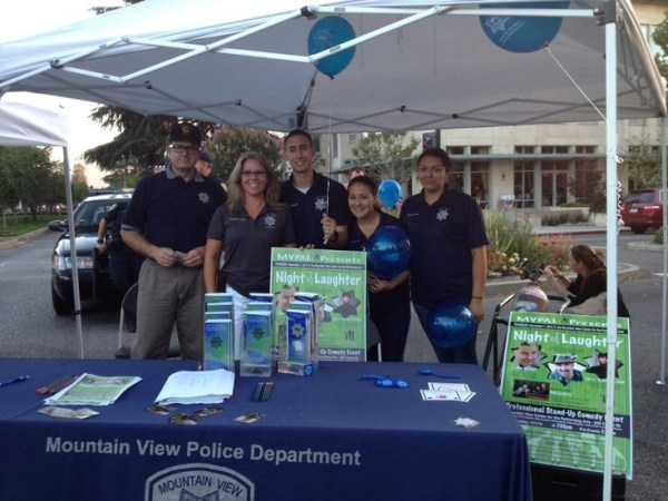 MVPD booth at the Aug 23rd Thursday Night Live event on ...