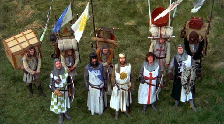 "monty python holy grail coconuts | ... from Monty Python ""Quest for the Holy Grail"" 