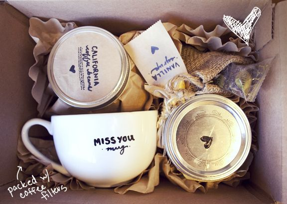 """I Miss You A Latte"" Gift 
