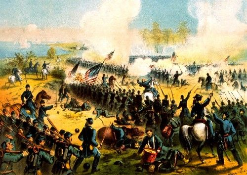 Battle of Shiloh by J.H. Bufford