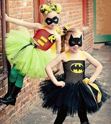 Batgirl and Robin - #Kids #Halloween #Costumes
