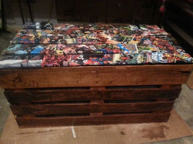 Handmade pallet toy box diy furniture pinterest