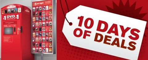 Image result for redbox 10 days of deals