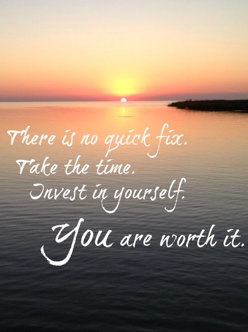 You are worth more than a weight loss gimmick. Invest in yourself!