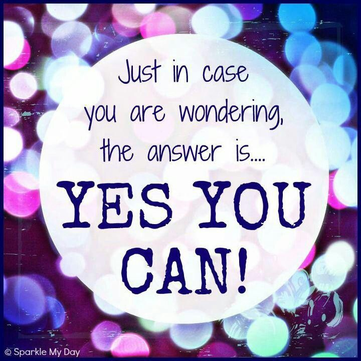 Image result for yes you can
