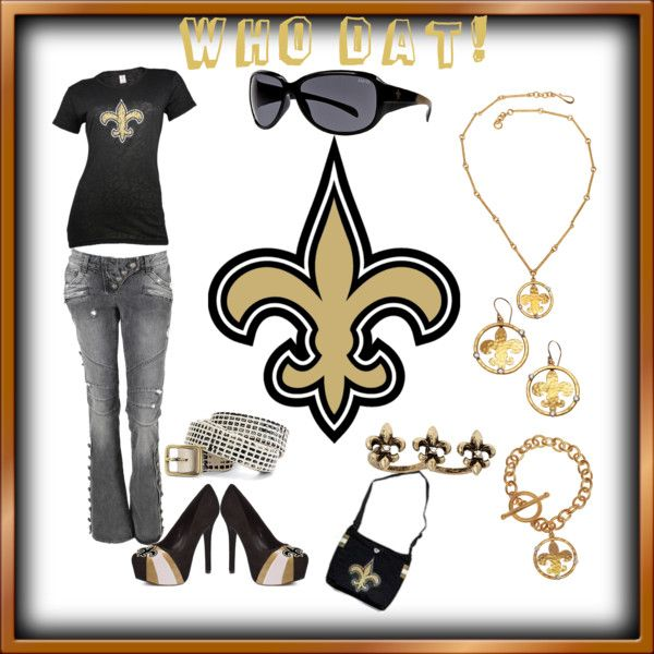 Outfit -- New Orleans Saints