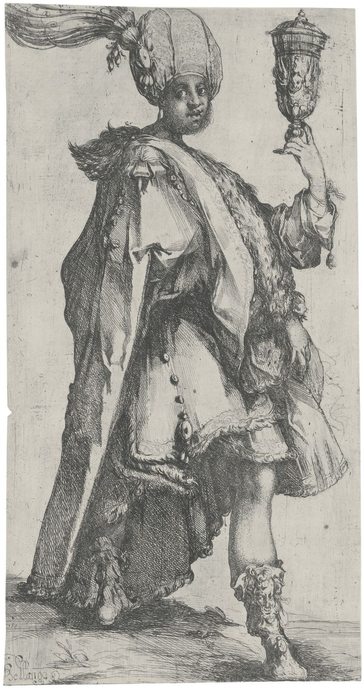 Jacques Bellange (1570 – 1616), Balthasar (Griffiths & Hartley 29; Walch 26)