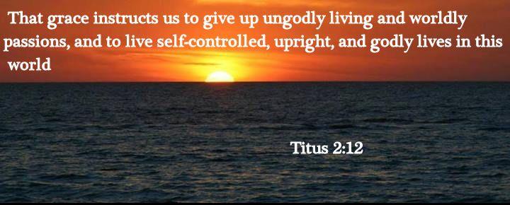 TITUS 2:12