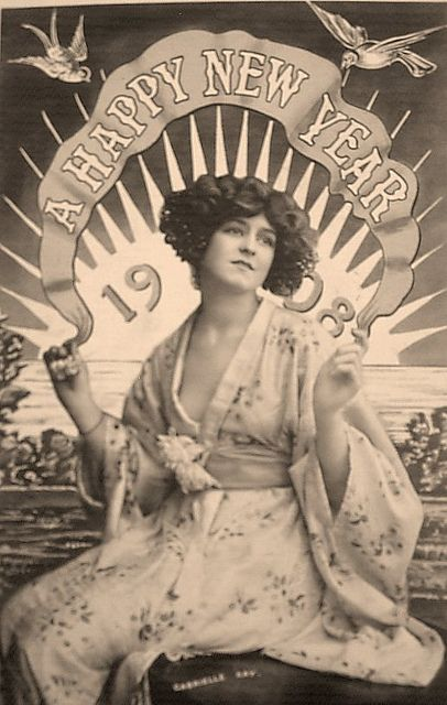 happy new year...1908