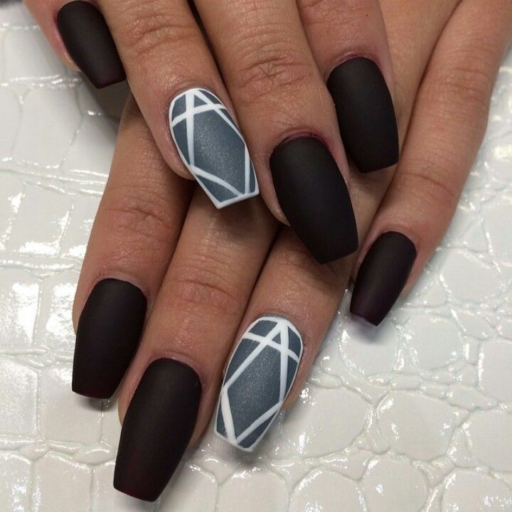 abstract nail designs | Le Belle Amour