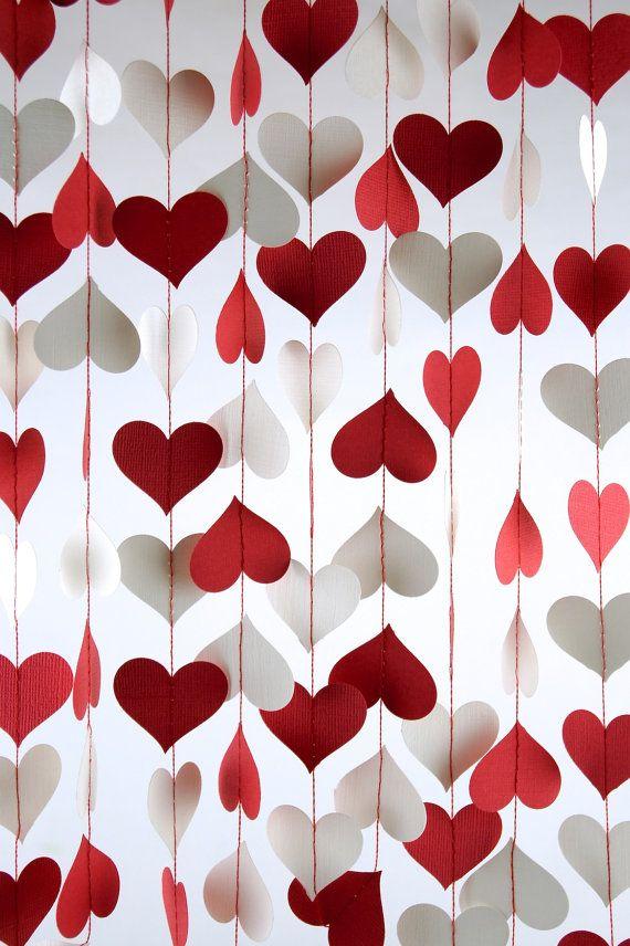 Valentines Day Decor, Bridal Shower, Baby Shower, Party Decorations, Birthday Decor