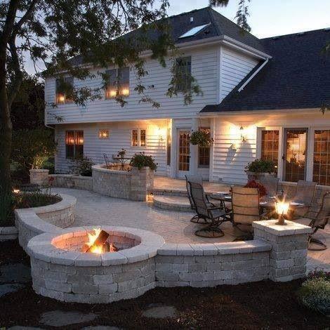 Backyard dream | My Pipe-Dream Home | Pinterest on Dream House Backyard id=93924