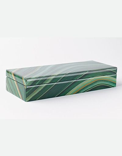 Agate Box from West Elm