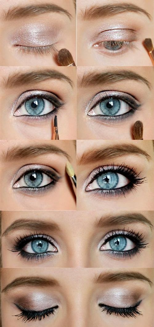 Makes the blue POP!  17 Makeup Ideas https://www.youniqueproducts.com/kelleylambert