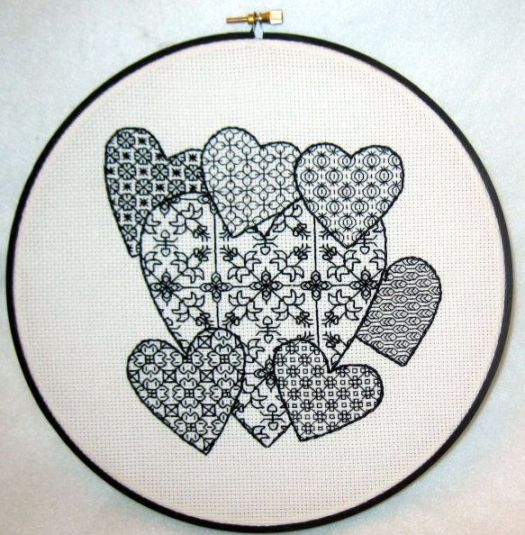 : Blackwork pattern for you to try!