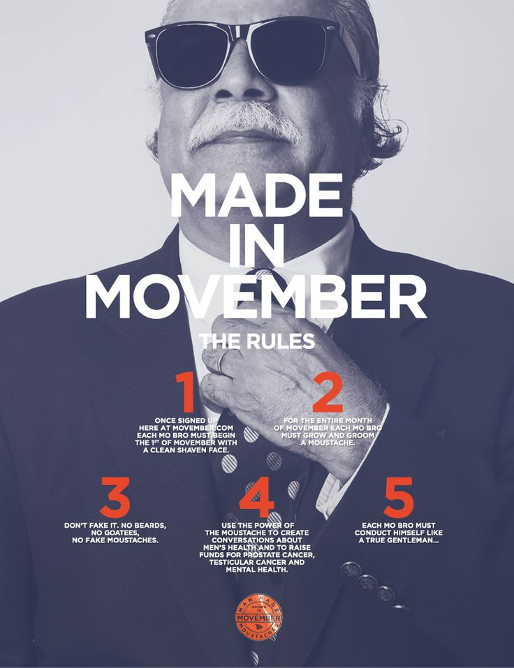 All you need to know about Movember 2014 | Tamworth Herald