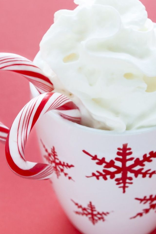 White Chocolate Snow Flake Cocoa Recipe