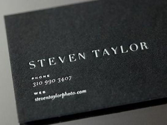 First Impressions: 10 Cool Business Card Designs