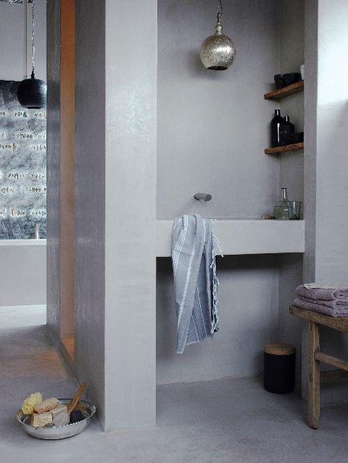 5 badkamers zonder tegels | de Verbouwingsarchitect