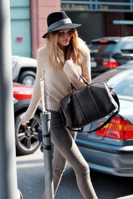 Rosie Huntington Whitely - I love EVERYTHING she wears!  Great style!