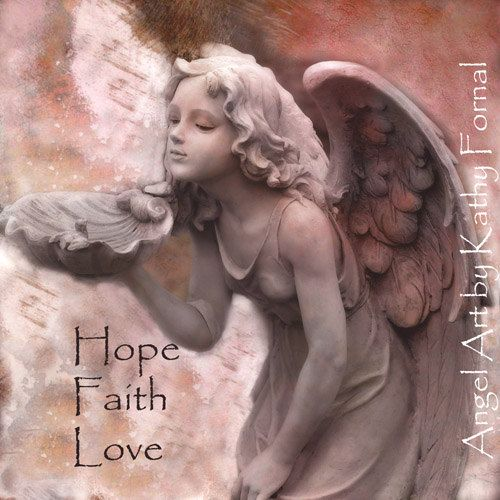 "Angel Art Note Card - Dreamy Angel Fairy Girl - Pastel Pink - Fantasy Art - Inspirational Frameable Angel Art Card 5"" x 5"". $6.00, via Etsy."