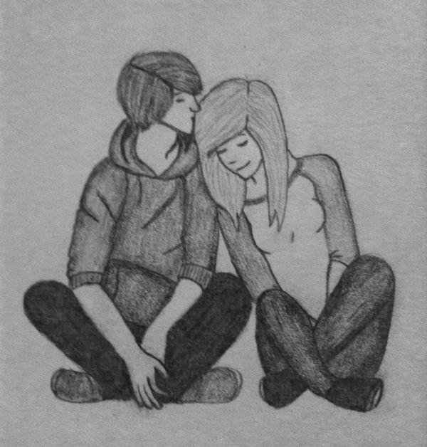 Cute Couple Drawings Best Pictures Collections   Just ...