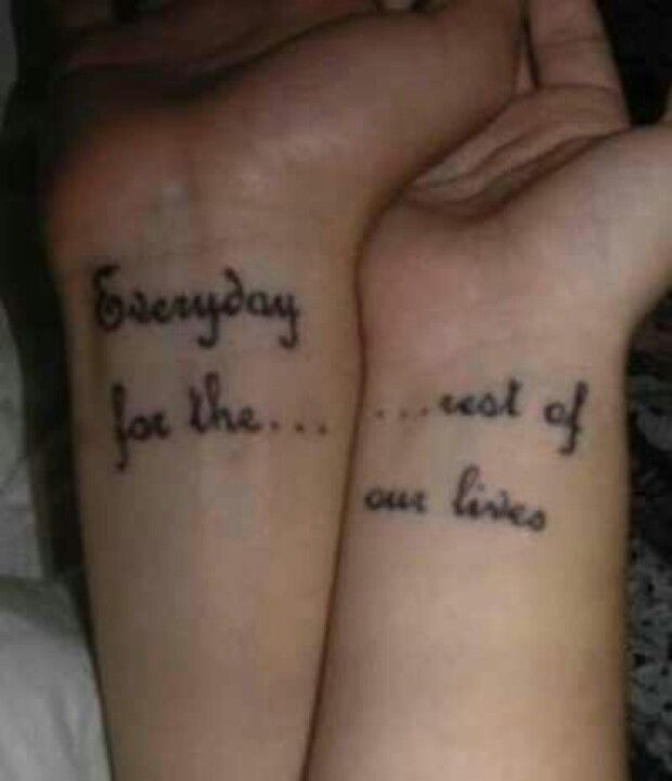 Tattoo Love Quotes Couples