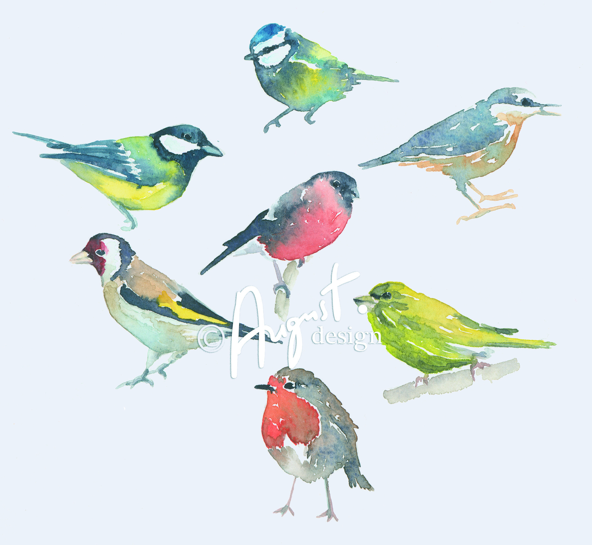 Images About Watercolor Birds Tutorials