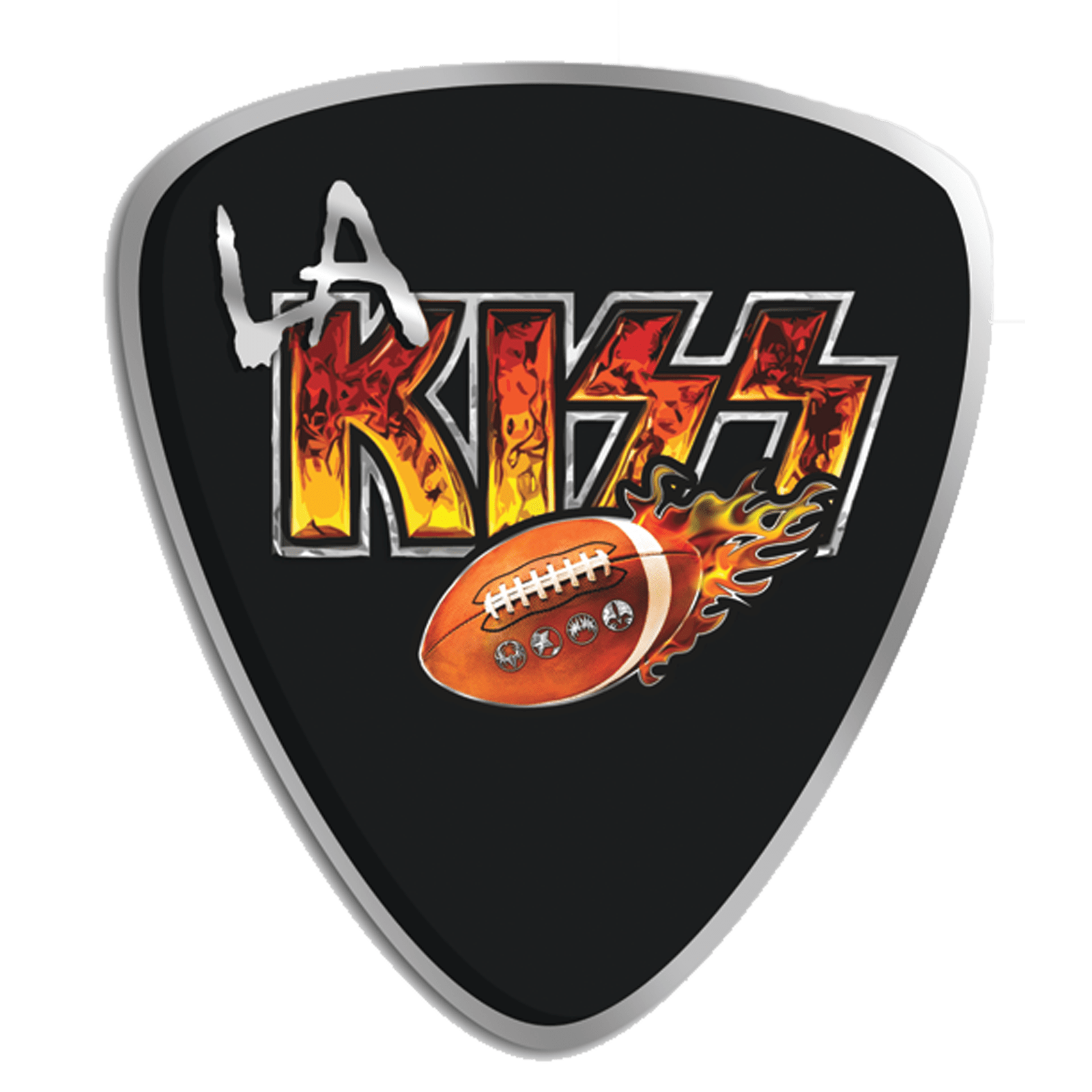 Los Angeles KISS logo