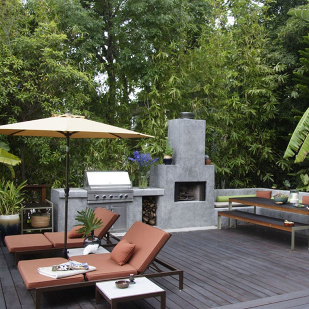 super cool outdoor entertainment area | Home Decor | Pinterest on Garden Entertainment Area Ideas id=35218