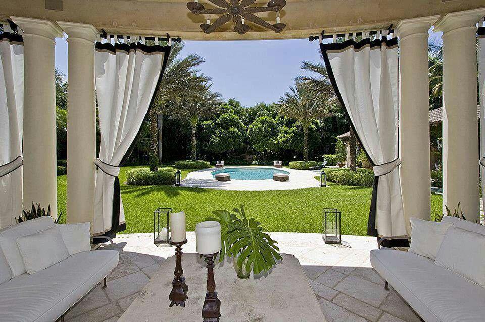 Luxury patio | Patio Designs | Pinterest on Luxury Backyard Patios id=57144