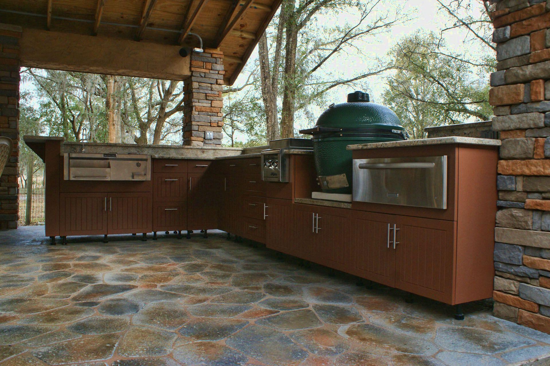 big green egg kitchen outdoor deck pinterest on outdoor kitchen on deck id=55815