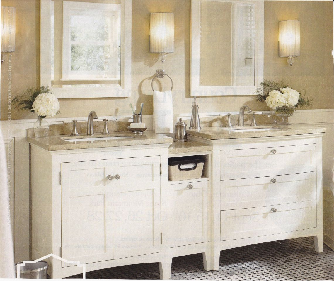 Master bathroom vanity | Decor Ideas - Master Bathroom ...