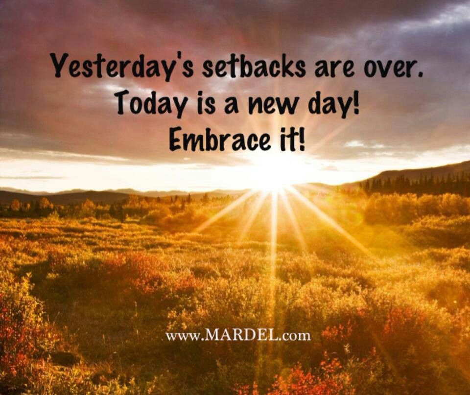 Todays A New Day Quotes. QuotesGram