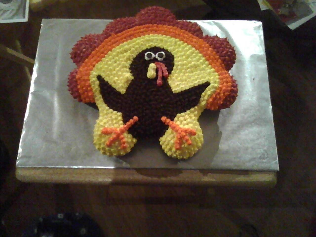 Pin Thanksgiving Cupcakes Decorating Ideas Cake