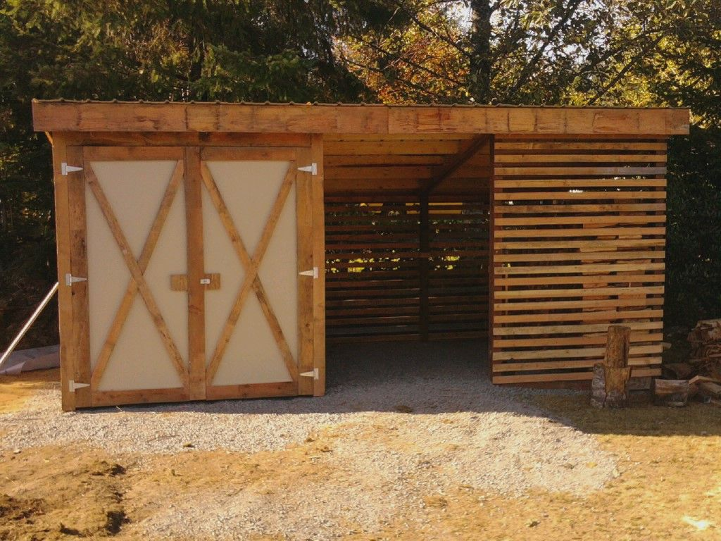 Lawn Mower Shed Plans