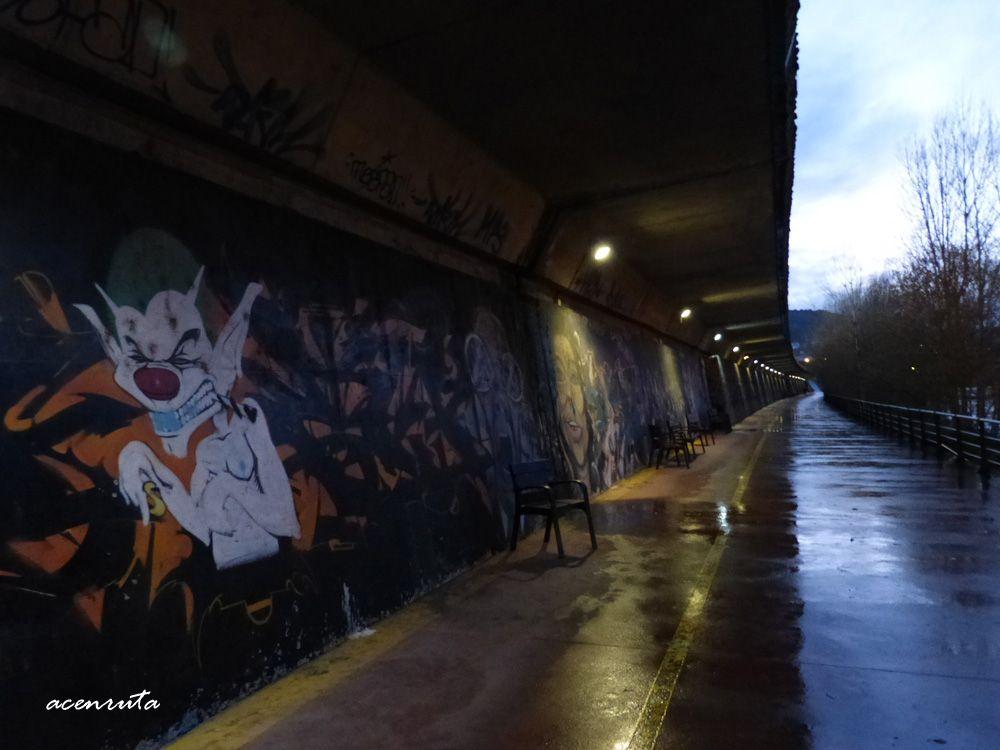 Paseo ribereño en Ourense