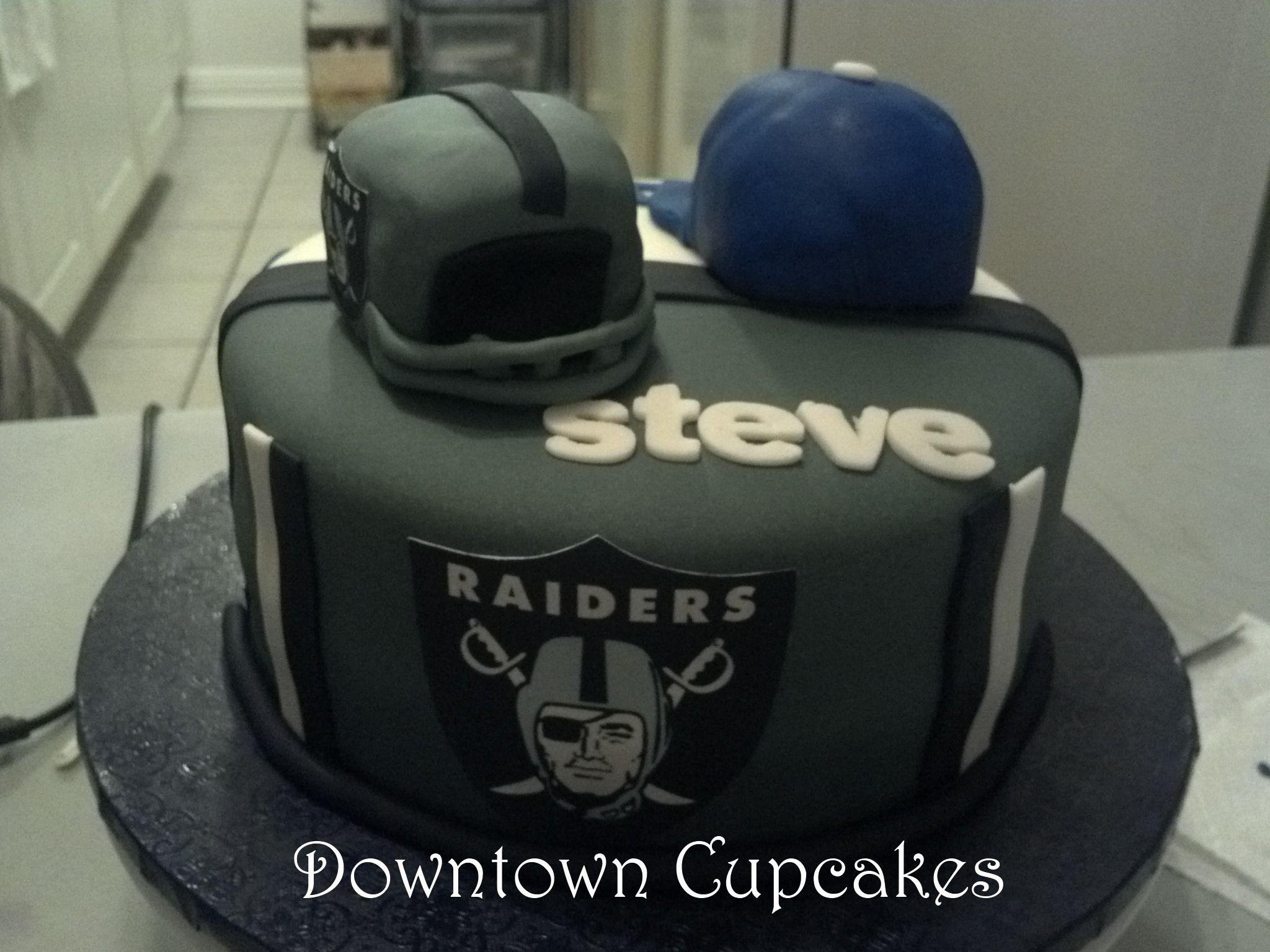 Oakland Raider Cakes Cake Ideas And Designs