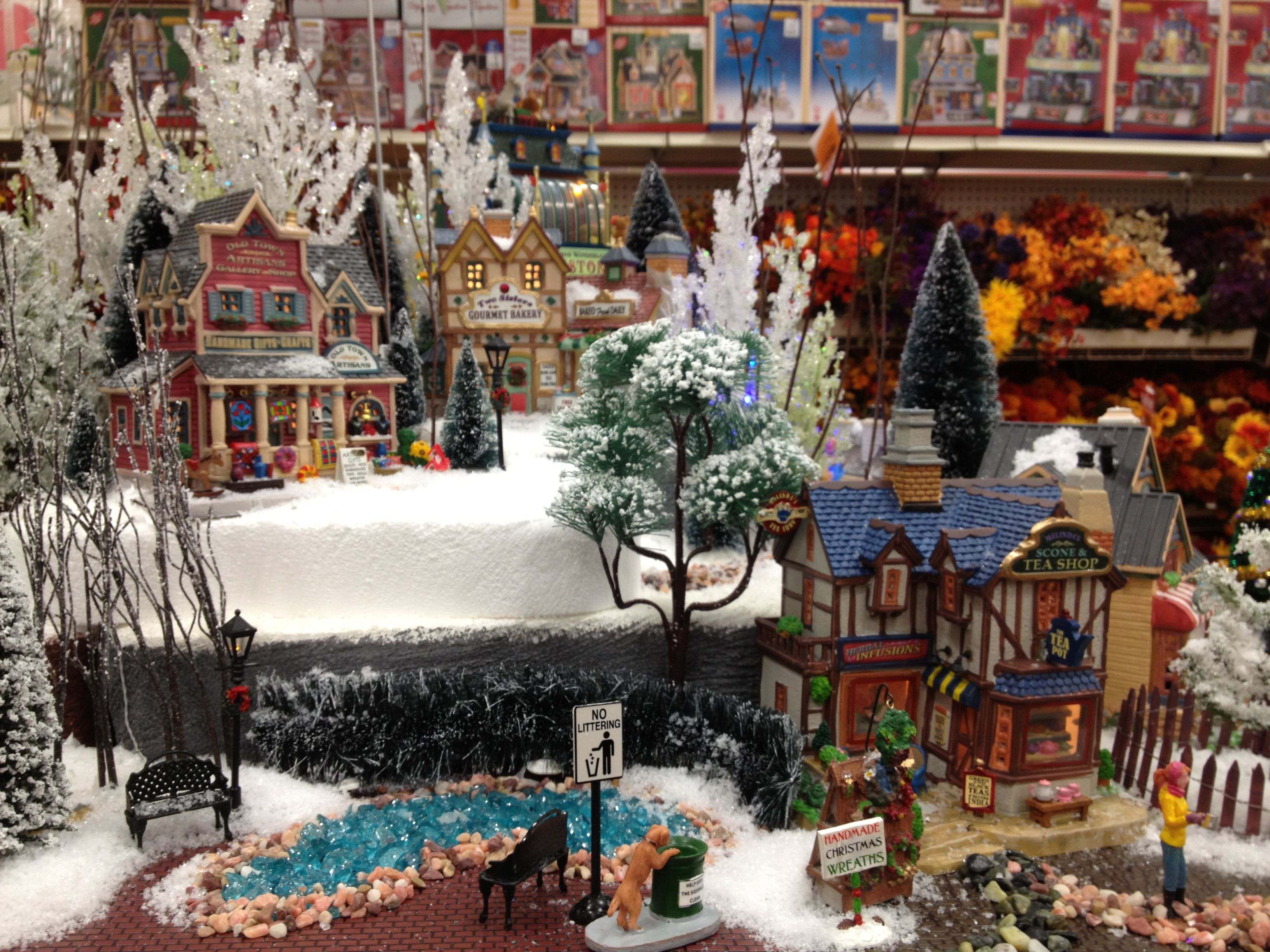 Home Design Image Ideas Lemax Christmas Village Display Ideas
