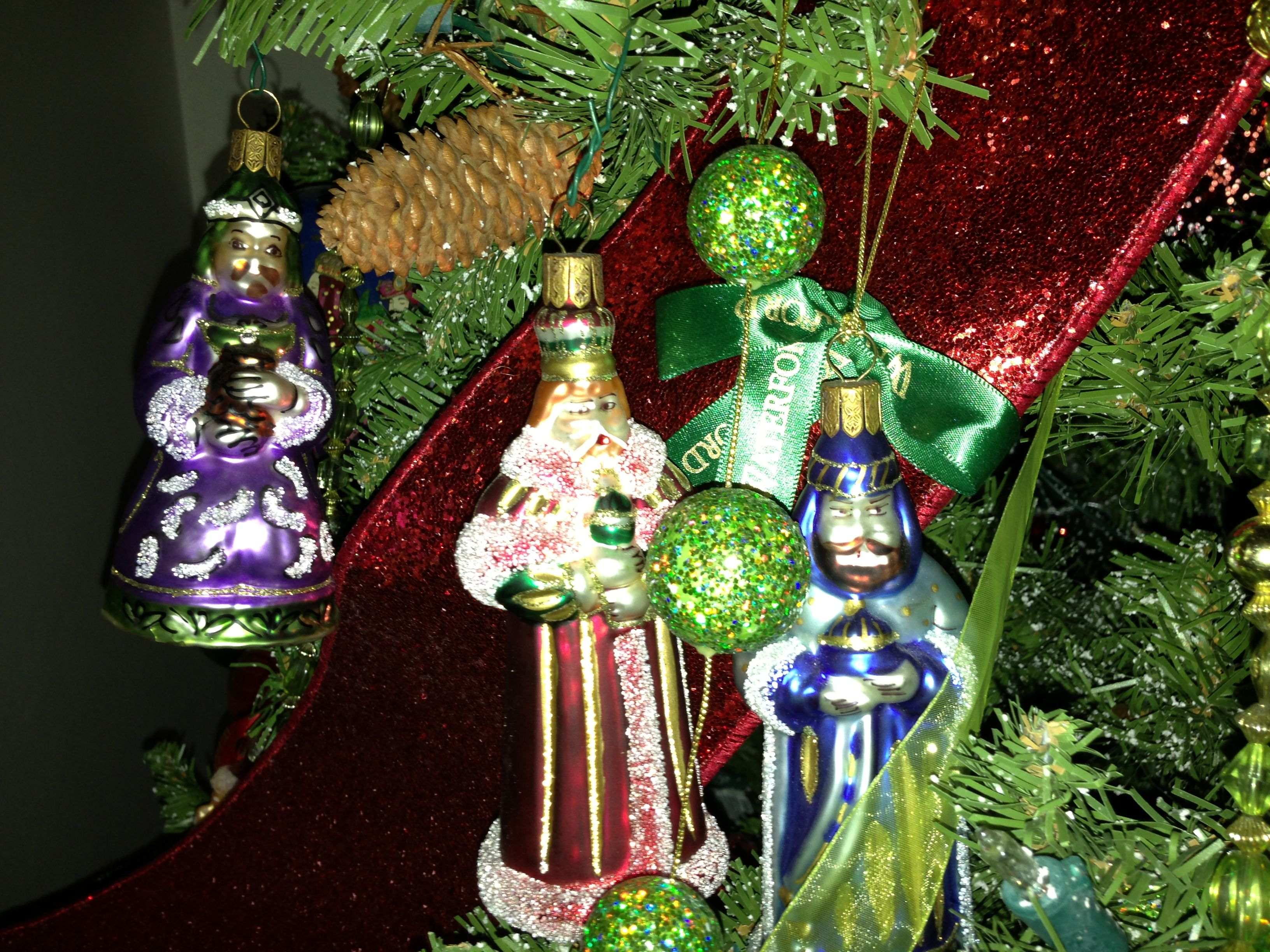 Wise Spain Christmas Three Men Decorations