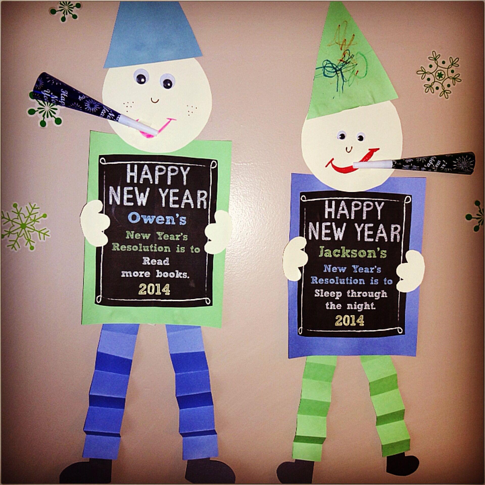 Happy New Year Craft