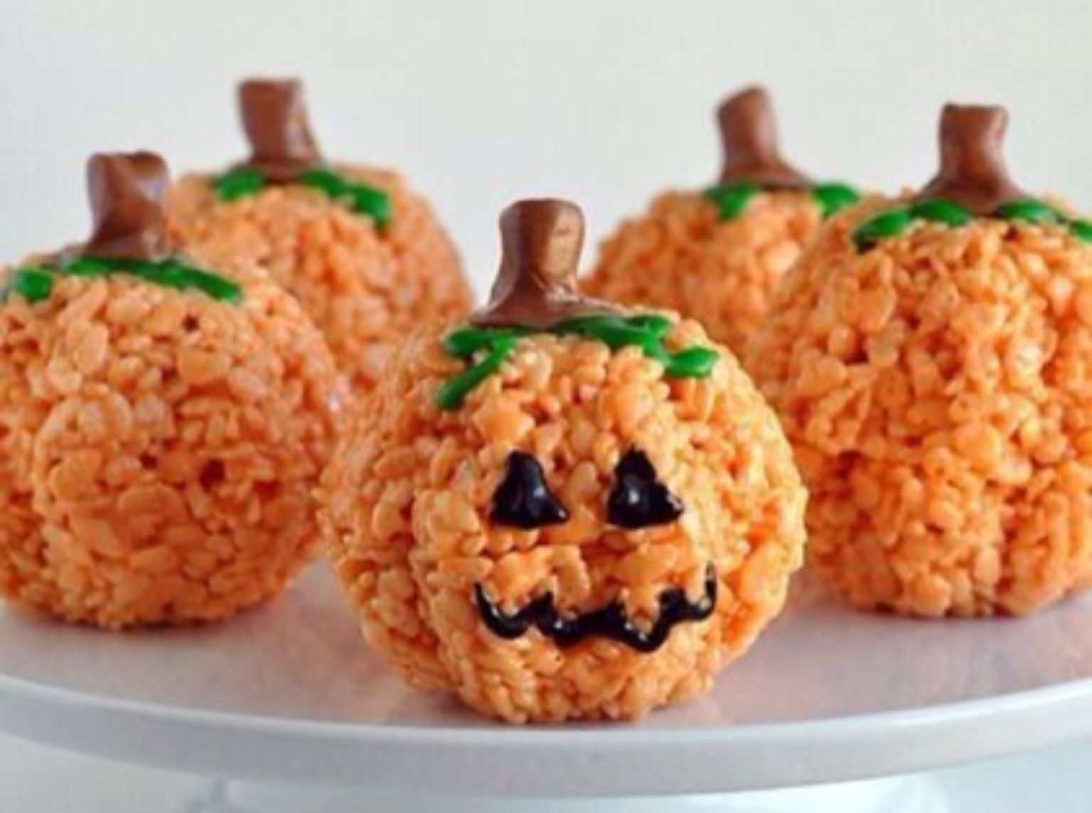 Fall Rice Krispie Treat Ideas