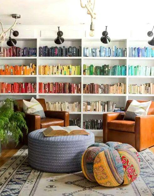 top 15 most beautiful bookshelves - novel novice