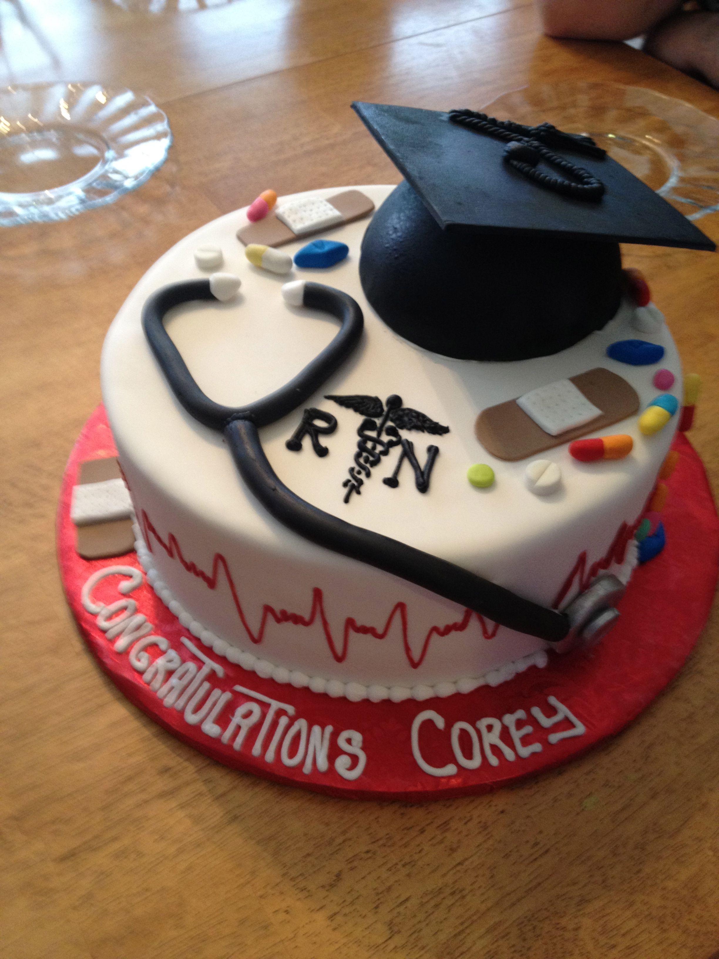 Hubs Cake For Graduating Nursing School