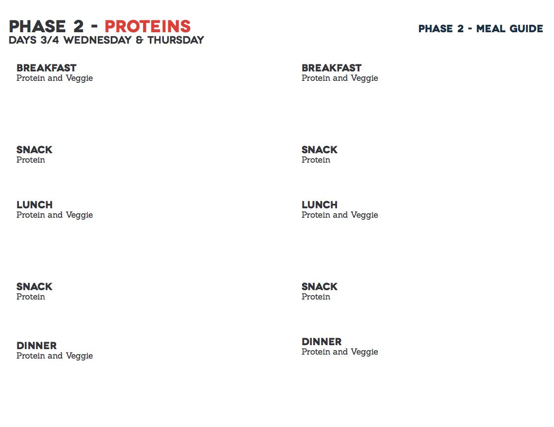 Meal Planning Worksheet