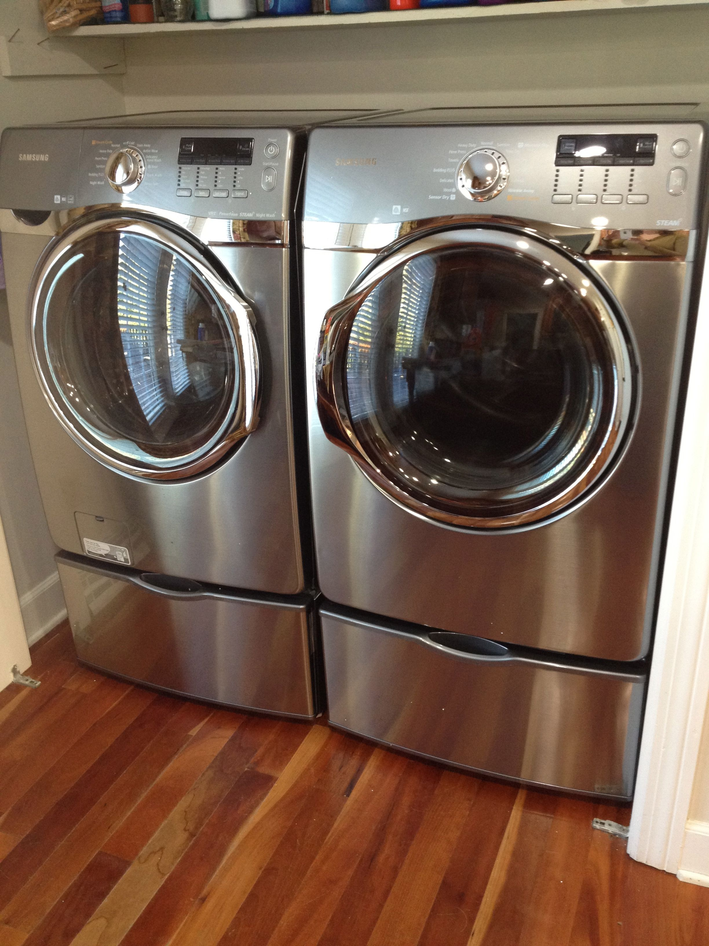 New Washer Dryer But In White